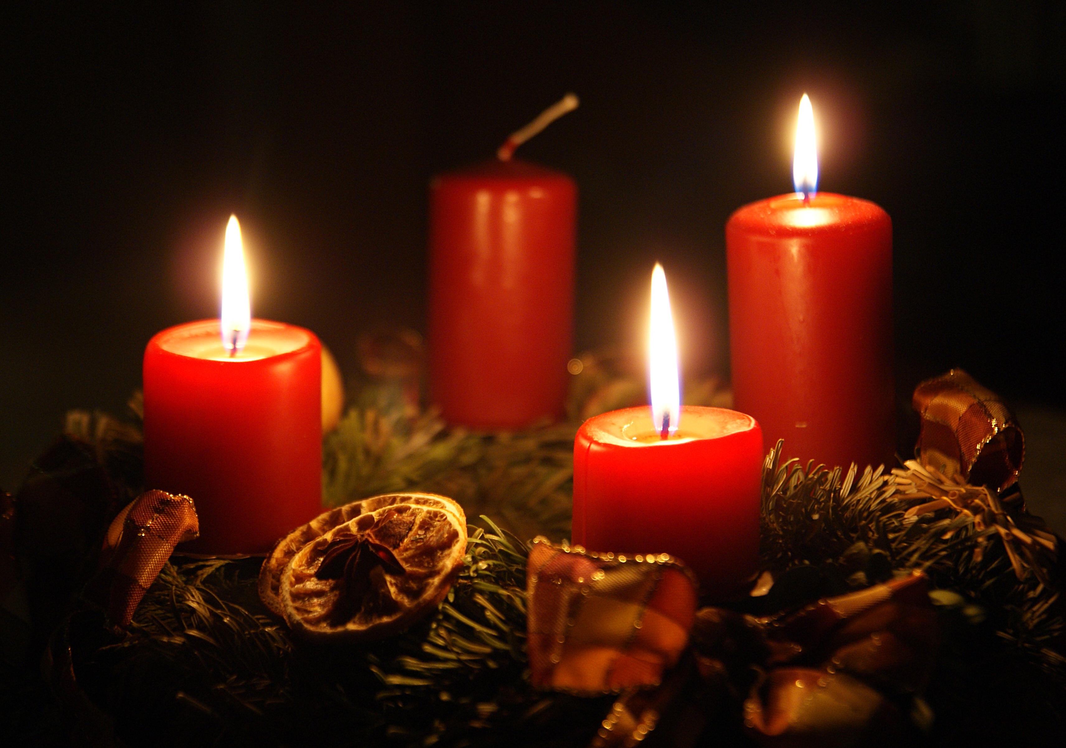 Adventskranz 3. Advent