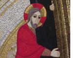Jezus nosi križ